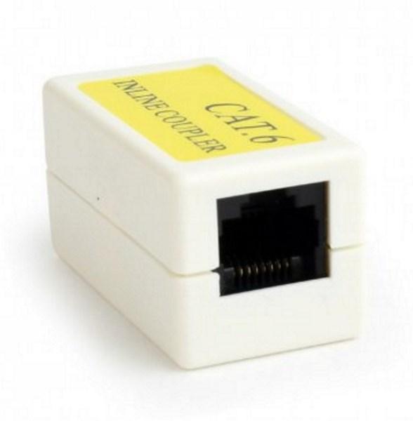 З'єднувач мережевих роз'ємів Cablexpert NCA-LC6-01 CAT 6 ,RJ-45 розетка-розетка (код 100874)