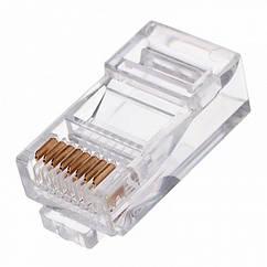 Конектор RJ-45 Cablexpert PLUG3UP6/100 упаковка конекторів 8P8C, 100шт. (код 100876)
