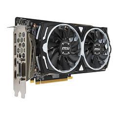Відеокарта MSI Radeon RX 580 ARMOR OC 8GB GDDR5 (256bit) (1366/8000) (DVI, 2 x HDMI, 2 x DisplayPort) (RX 580