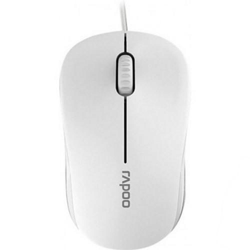 Мишка Миша Rapoo N1130-Lite White (код 83150)