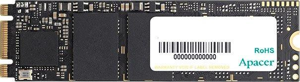 Твердотільний диск SSD M.2 240GB Apacer AS2280P2   PCIe 3.0 TLC, Sequential Read/Write 1650/950 MB/sec