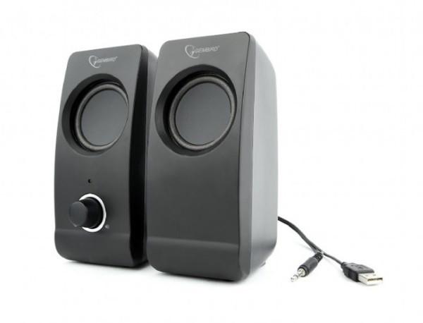 Колонки Акустична система Gembird 2.0 SPK-DU-01 портативна акустична система (код 100098)