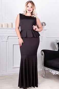 Чорне вечірнє плаття в підлогу Терра
