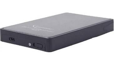 "Зовнішня кишеня Gembird EE2-U31S-2  2.5"", USB3.1,Type-C, чорний (код 100109)"