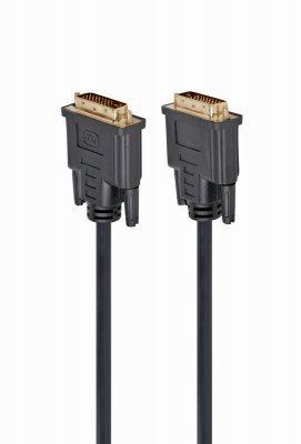 Кабель сигнальний DVI-DVI Cablexpert CC-DVI2-BK-10DVI відео 24/24 (dual link), 3м (код 113418)