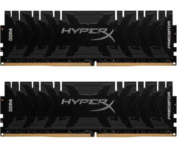 Пам'ять DDR4 RAM 32GB Kingston 3000MHz PC4-24000 (Kit of 2x16GB) HyperX Predator Black (код 87992)