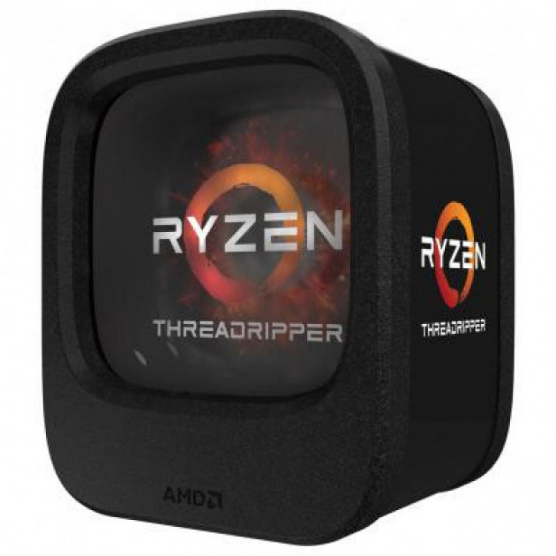 Процесор CPU AMD  8C/16T  Ryzen Threadripper 1900X  3,8GHz-4,0GHz(Turbo)/16MB/180W  (YD190XA8AEWOF) sTR4 BOX
