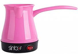 Турка электрическая Sinbo SCM-2928, розовая