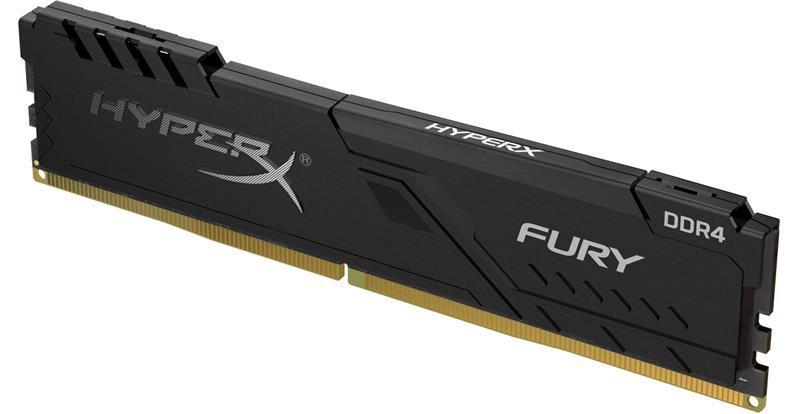 Пам'ять DDR4 RAM 16GB Kingston 3200MHz PC4-25600 HyperX Fury Black (код 109826)