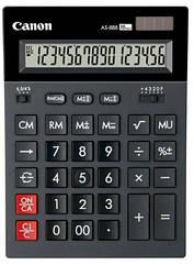 Калькулятор Canon AS-888 II Black (код 109828)