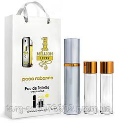 Мини-парфюм мужскойPaco Rabanne 1 million Lucky, 3х15 мл