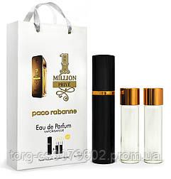 Мини-парфюм мужской Paco Rabanne 1 million Prive, 3х15 мл