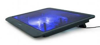 """Підставка-охолоджувач Gembird NBS-1F15-03 для ноутбука 15,6""""  (код 109853)"""