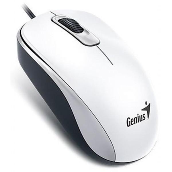 Мишка Mouse Genius DX-110 USB, White (31010116102) (код 90714)