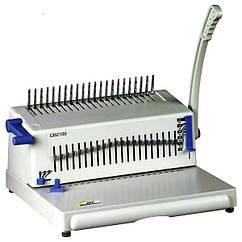 Брошурувальник на пластикову пружину bindMARK CB2100 PLUS  (до 24арк., брошура до 450арк, відкл. ножів, окремі