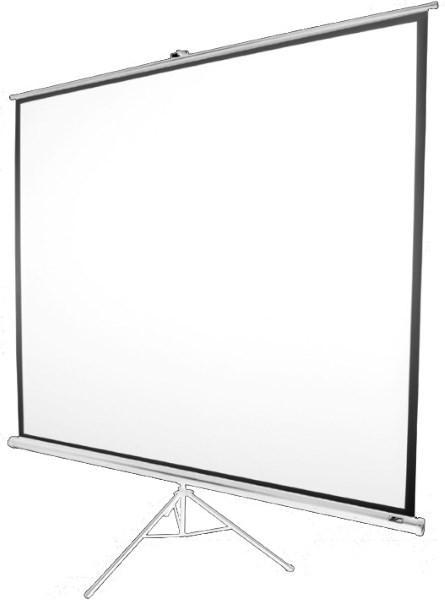 """Екран ELITE SCREENS 152,4 Х 152,4см, 85""""(1:1)  тринога (T85NWS1) White Case (код 44487)"""
