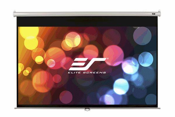"""Екран ELITE SCREENS 162,6 х 121,9см, 80"""" (4:3) настінний, ручний (M80NWV) (код 44490)"""
