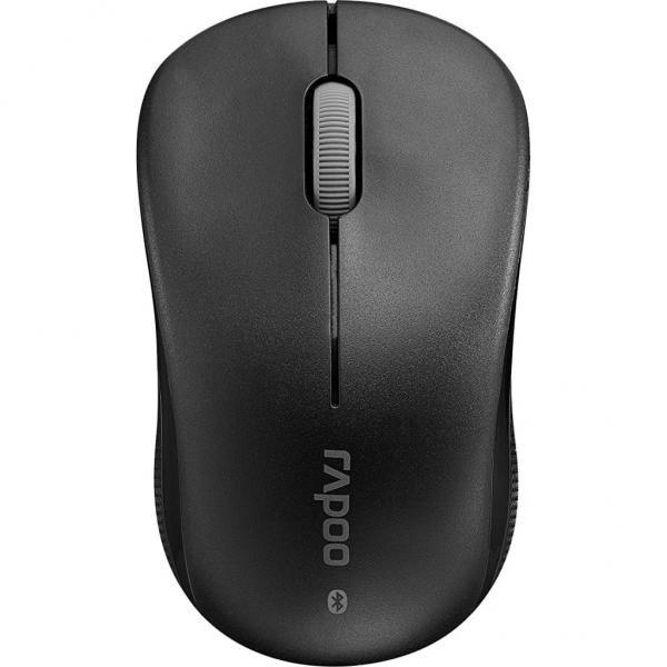 Мишка Миша Rapoo 6010 блутуз, чорна  (код 90156)