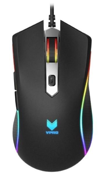Мишка Миша ігрова Rapoo V280 оптична чорна (код 90179)