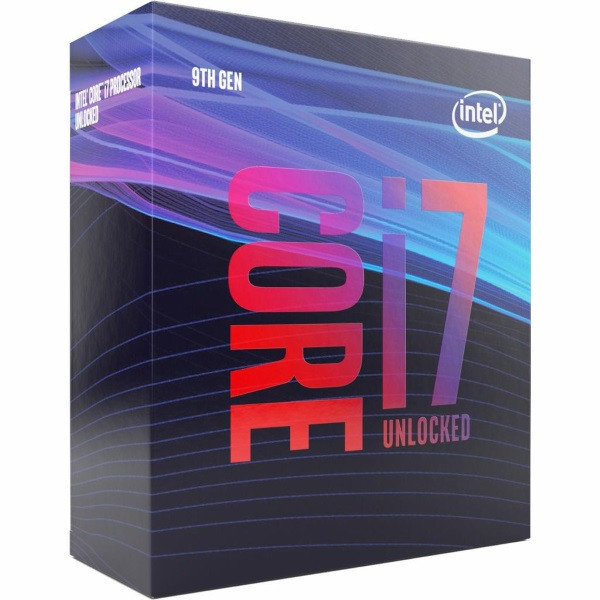 Процесор CPU Core i7-9700K   8 cores  3,60Ghz-4,90Ghz/12Mb/s1151/95W/Coffee Lake (BX80684I79700K) Box (код