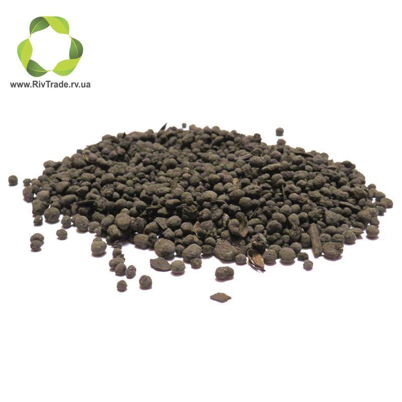 Uphos Organic+ куринный компост (круглая гранулая) NPK 5:5:5