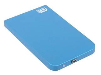 """Зовнішня кишеня AgeStar SUB2O1 (blue) 2.5"""", USB2.0 синій  (код 86166)"""