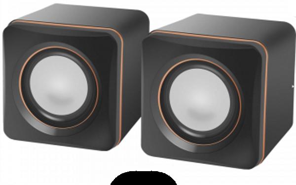 Колонки Акустична система 2.0 Defender SPK 33 5W Black USB (код 86230)