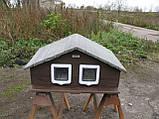 Домик для двух котов (утепленный), фото 6