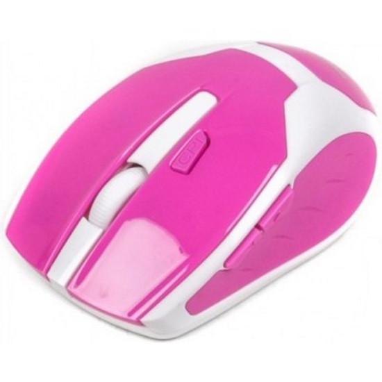 Миша Maxxter Mr-317-R оптична, рожево-біла (код 84077)
