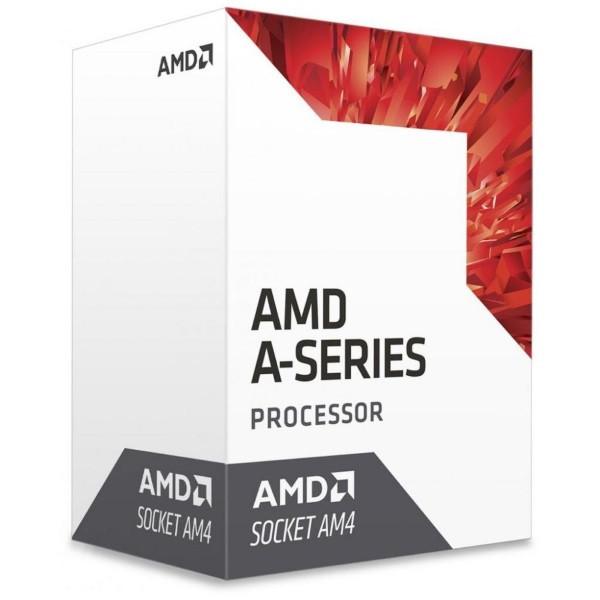 Процесор CPU AMD  Bristol Ridge A6 2C/2T 9500 (3.5/3.8GHz,1MB,65W) Radeon R7 Series (AD9500AGABBOX) AM4 BOX