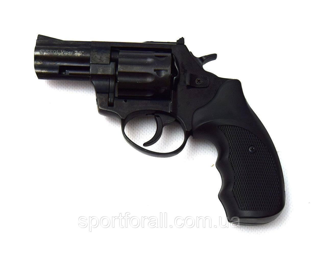 """Револьвер флобера Ekol Major Berg 2,5"""" (черный)"""
