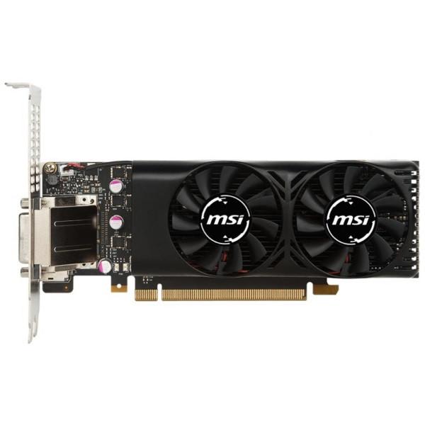 Відеокарта MSI GeForce GTX 1050 Ti 4GB GDDR5   LowProfile, 1290-1392(Boost)MHz/7008MHz, 128Bit, активне ,