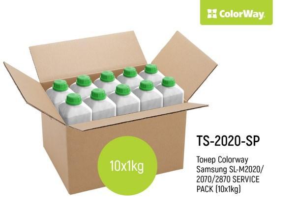 Тонер Samsung SL-M2020/2070/2870 SERVICE PACK  (10x1кг)  *Colorway (код 95387)