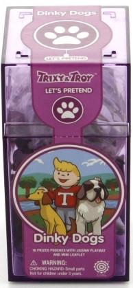 Пластикові ігрові фігурки собачки з пазлом Trixy &Troy 16шт (Т091) (код 95398)