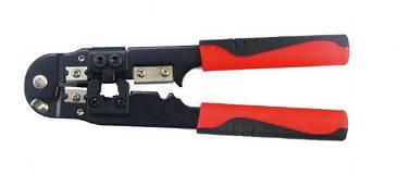 Інструмент Cablexpert T-WC-03  3-в-1  для обтиску роз'ємів RJ45  (код 86355)