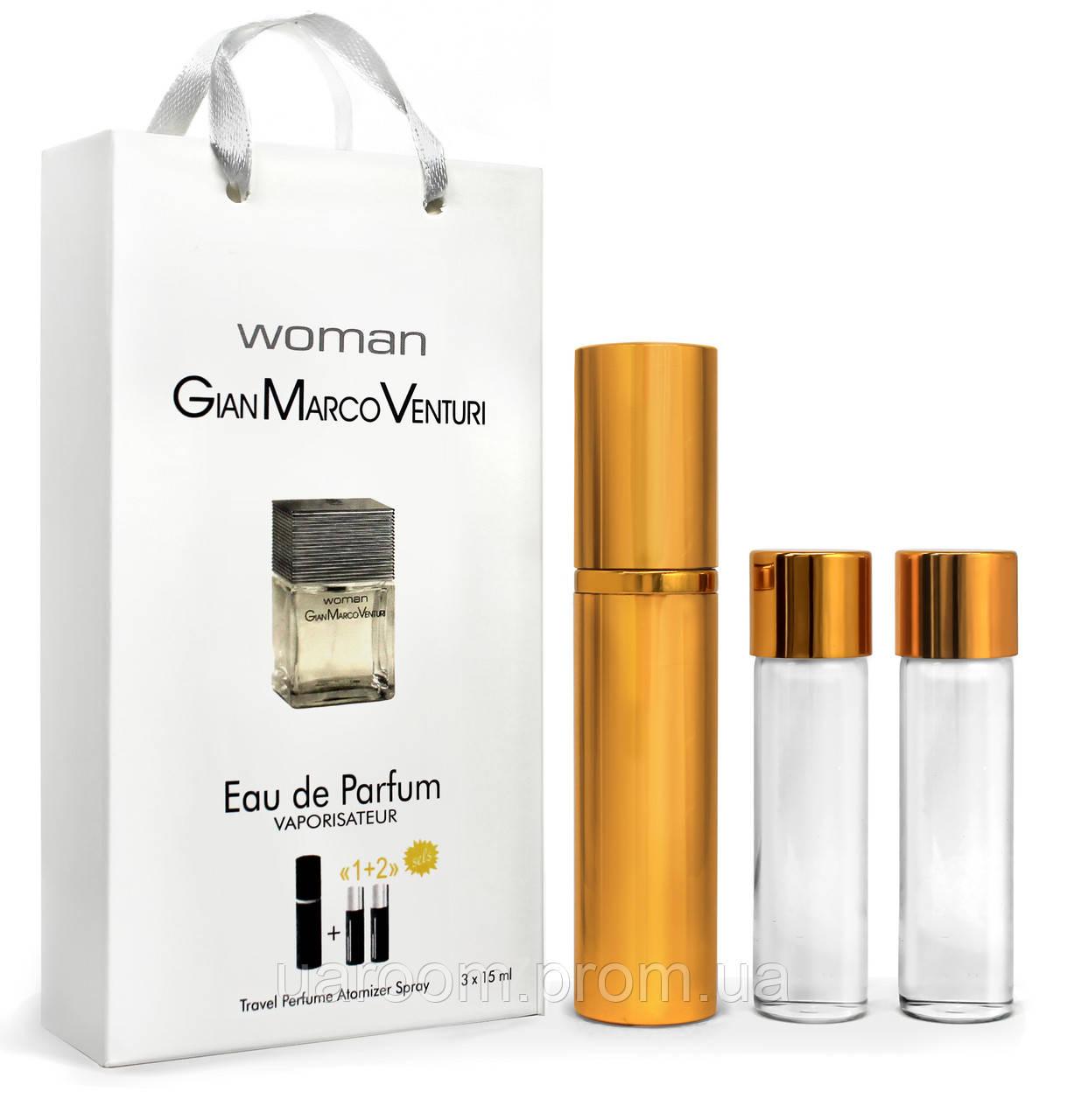 Мини-парфюм женский GIAN MARCO VENTURI woman, 3х15 мл.