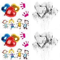 """Воздушные шары """" Сердце серебро"""" (уп-10 шт), фото 1"""