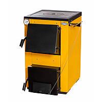 Котел на твердом топливе Буран мини - 18 кВт с варочной плитой.
