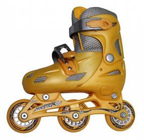 Роликовые коньки KEPAI Желтый SS-CHIN-STAR-9 30-33 жел