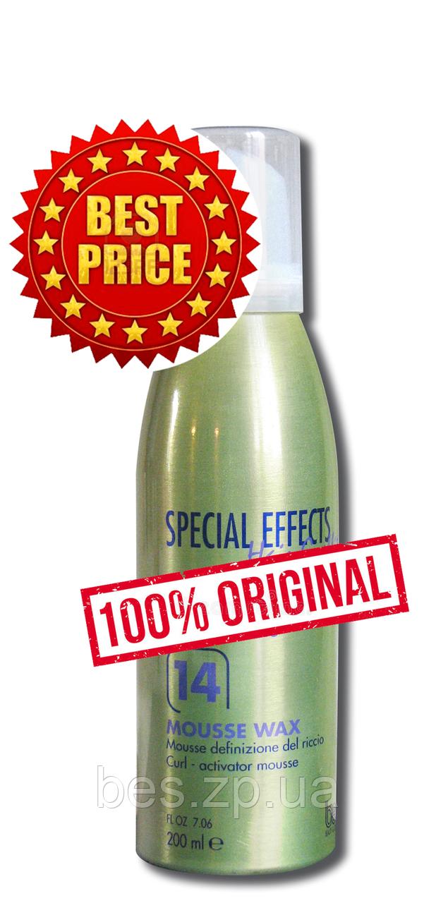 Мус для укладання тонкого і нормального кучерявого волосся №14 Mousse Wax