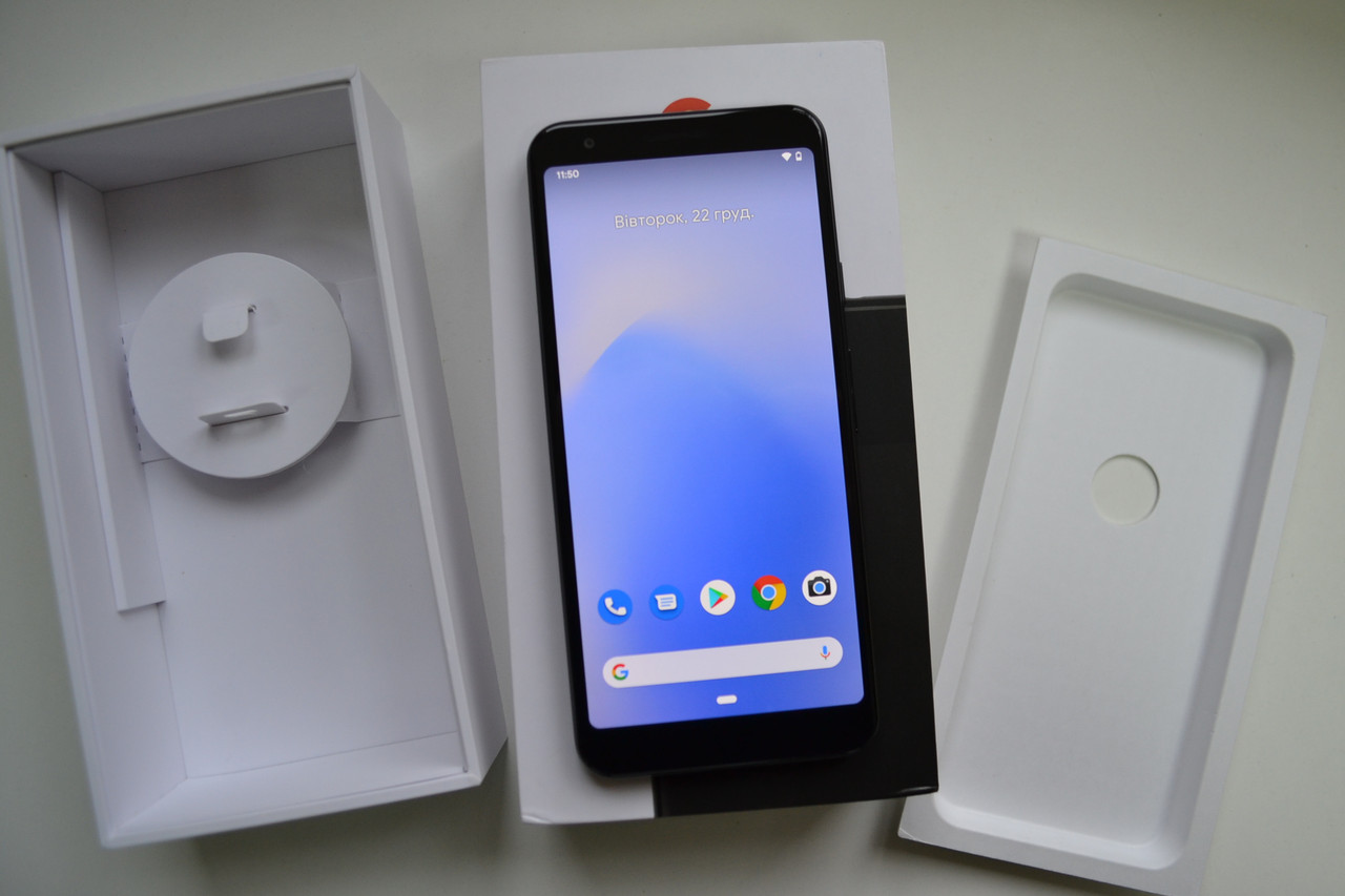 Google Pixel 3a 64Gb Just Black Оригинал!