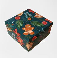 """Подарункова збірна коробка """"Чарівне свято"""", 220*220*120 мм"""