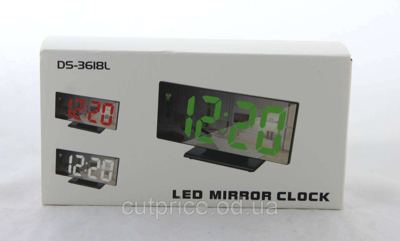 Годинник 3618L зелені (80)