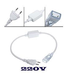 Аксессуары для светодиодной ленты 220V