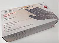 Перчатки нитриловые черные, размер XS, упаковка 100шт/50пар