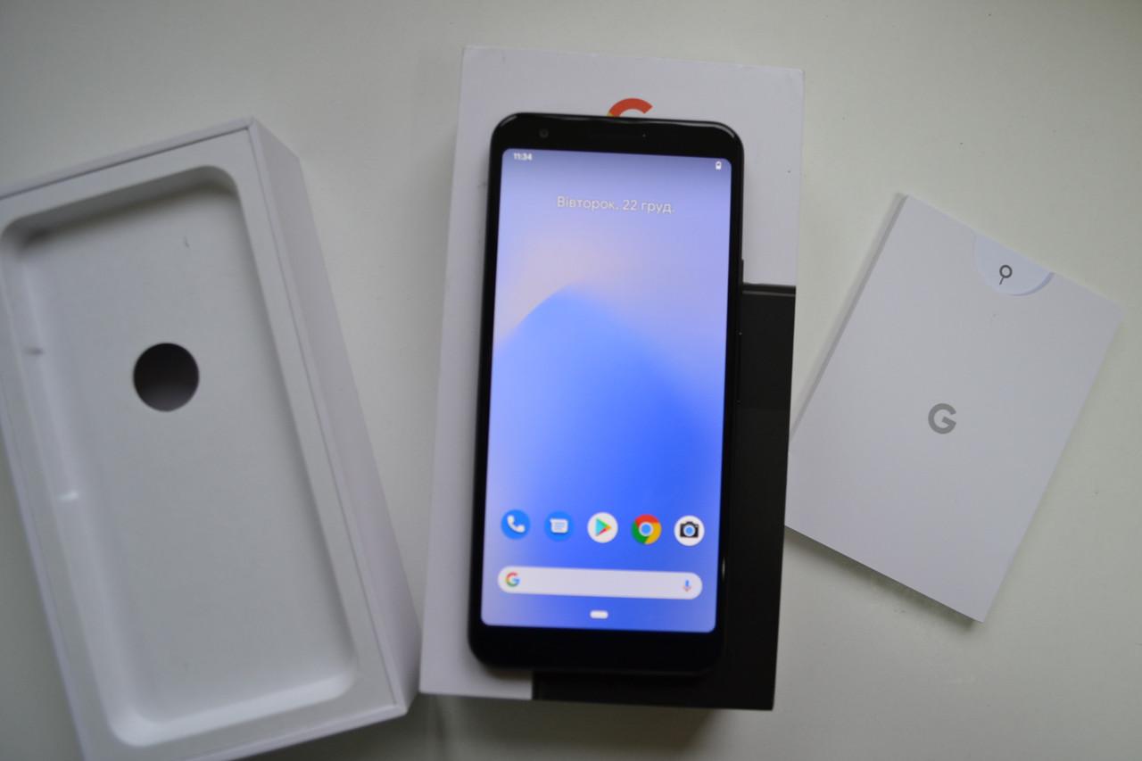 Google Pixel 3a 64Gb Just Black Оригинал!