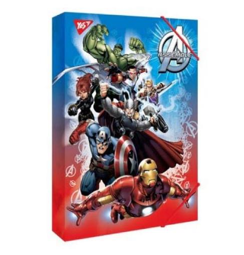 """Папка для праці YES картонна А4 """"Marvel"""""""