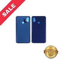 Заднее стекло корпуса для Xiaomi Mi 8 тёмно-синее