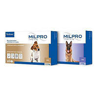 Таблетка Milpro для собак от 5кг до 25кг