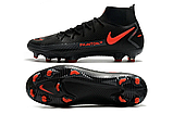 Бутсы Nike Phantom GT Elite DF FG black/orange, фото 2